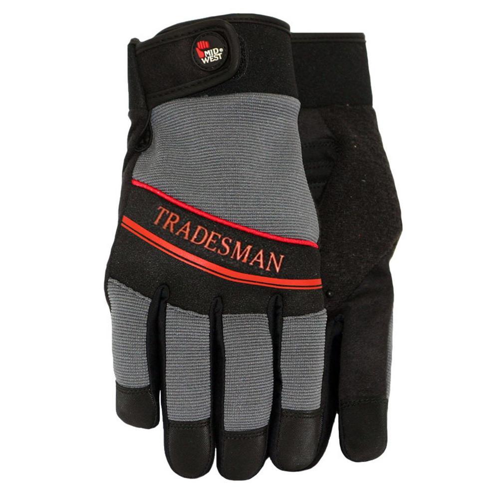 Tradesman  Gray Spandex back