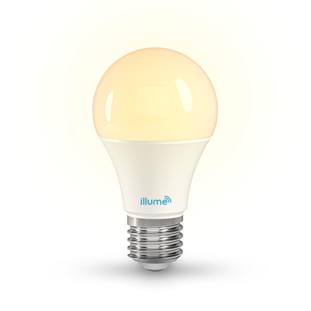 60 Watt Equivalent A19 750 Lumens Multi Color And Pure Whites Smart Led Light Bulb