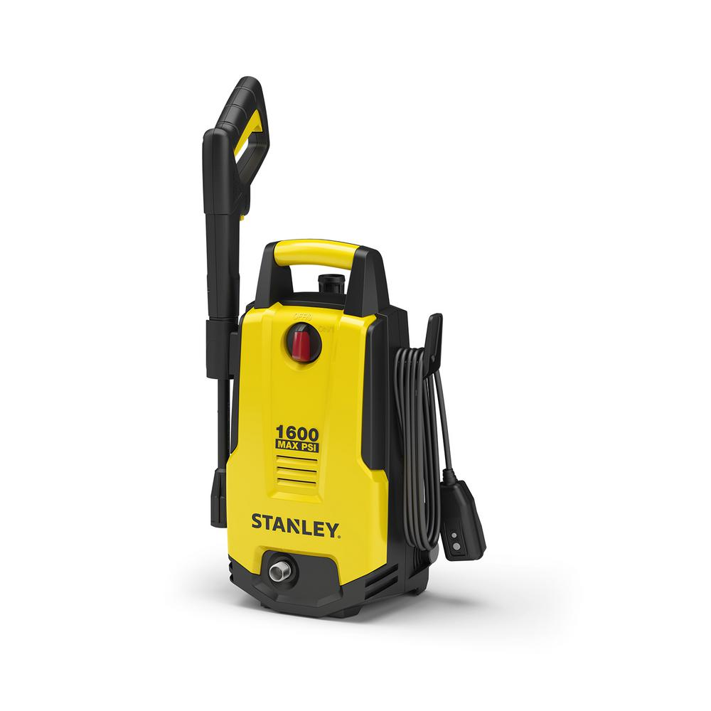 Stanley Portable 1,600 PSI 1.3 GPM Electric Pressure Washer with 20 ft. Hose