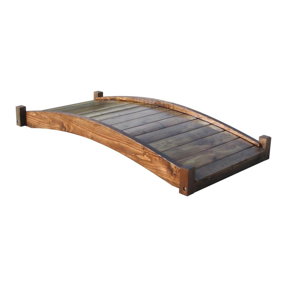 Samsgazebos 6 Ft Treated Zen Garden Bridge Kit Zen Garden