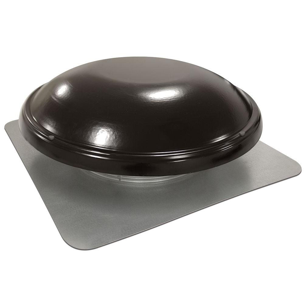 Master Flow 1500 Cfm Power Roof Mount Attic Fan In Black