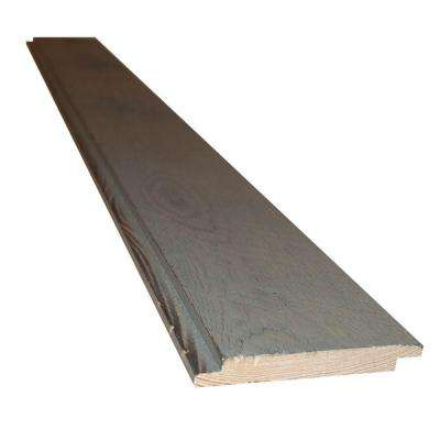Montana Ghost Wood 6 in. x 56 lin. ft. Silver City Circle Sawn Weathered Wood Shiplap Siding