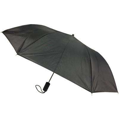 42 in. Black Arc Full-Size Automatic Open Umbrella