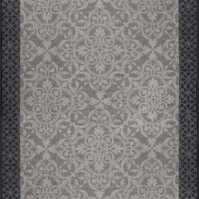 Derbent Grey 2 ft. 2 in. x Your Choice Length Roll Runner