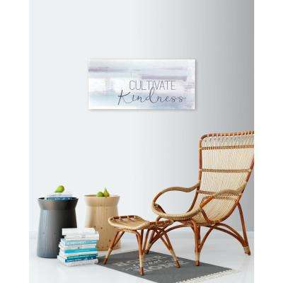 "32 in. W x 15 in. H ""Cultivate Kindness"" by KLB Printed Wall Art"