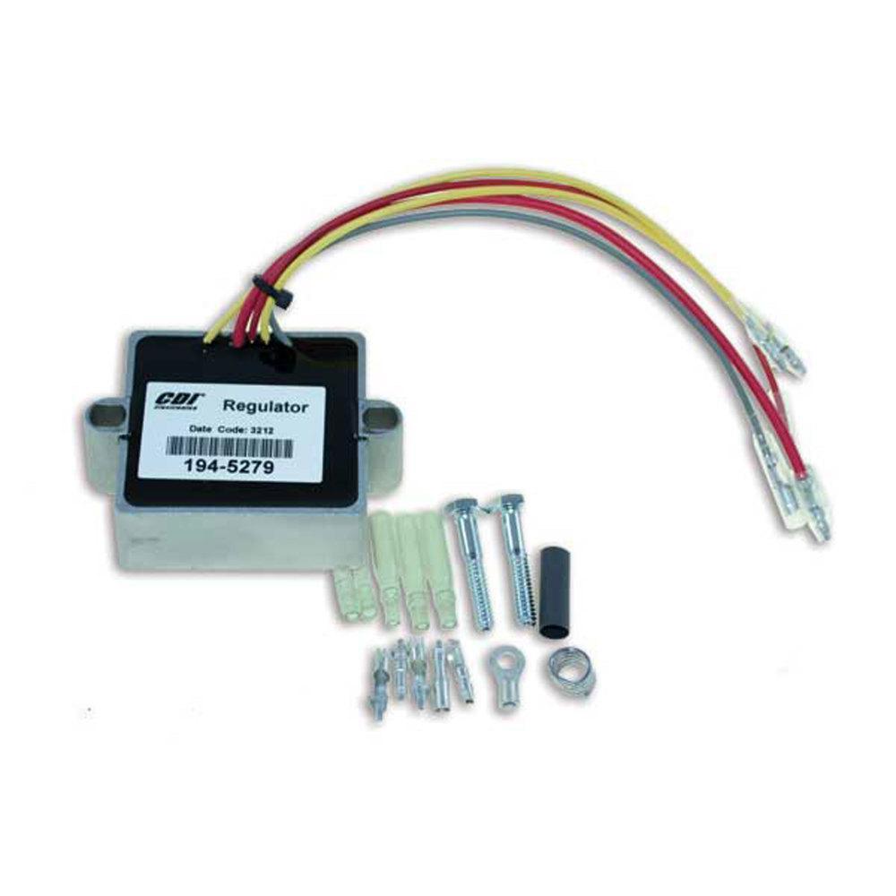 CDI Electronics Mercury/Mariner Voltage Regulator 2/3/4/6 Cyl (1989-2006)