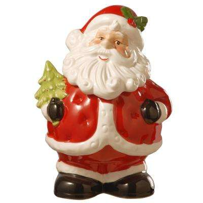 10 in. Dolomite Santa Cookie Jar