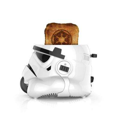 2-Slice White Toaster