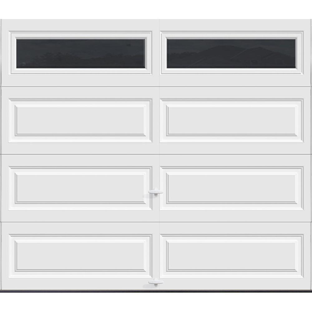 Clopay Classic Collection 8 ft. x 7 ft. 18.4 R-Value Intellicore Insulated  sc 1 st  Home Depot & Clopay Classic Collection 8 ft. x 7 ft. 18.4 R-Value Intellicore ...