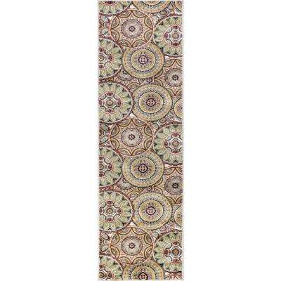 Deco Multi 2 ft. x 10 ft. Runner Rug
