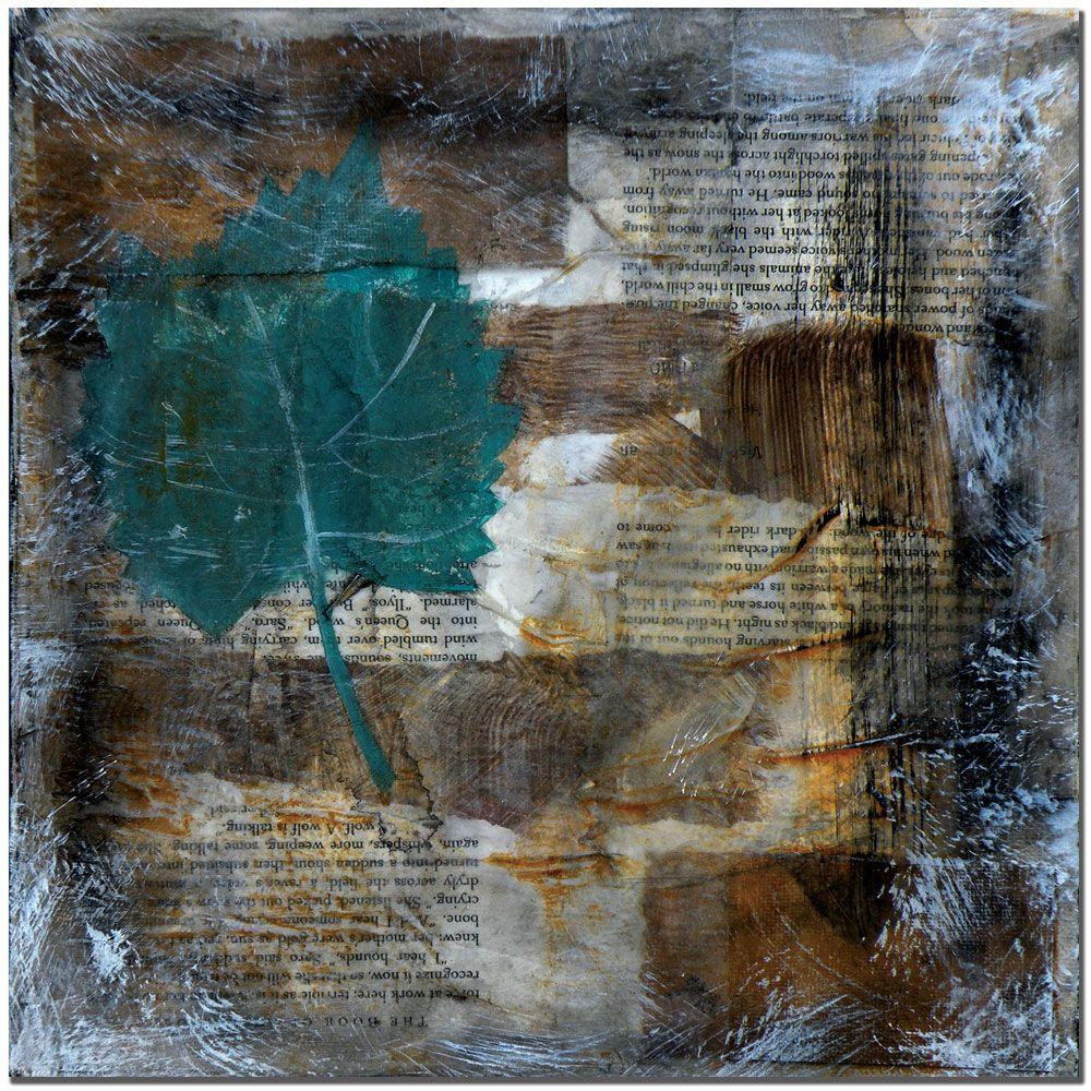 Trademark Fine Art 24 in. x 24 in. Memento I Canvas Art