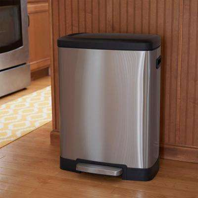 50 l Summit Rectangular Stainless Black Lid