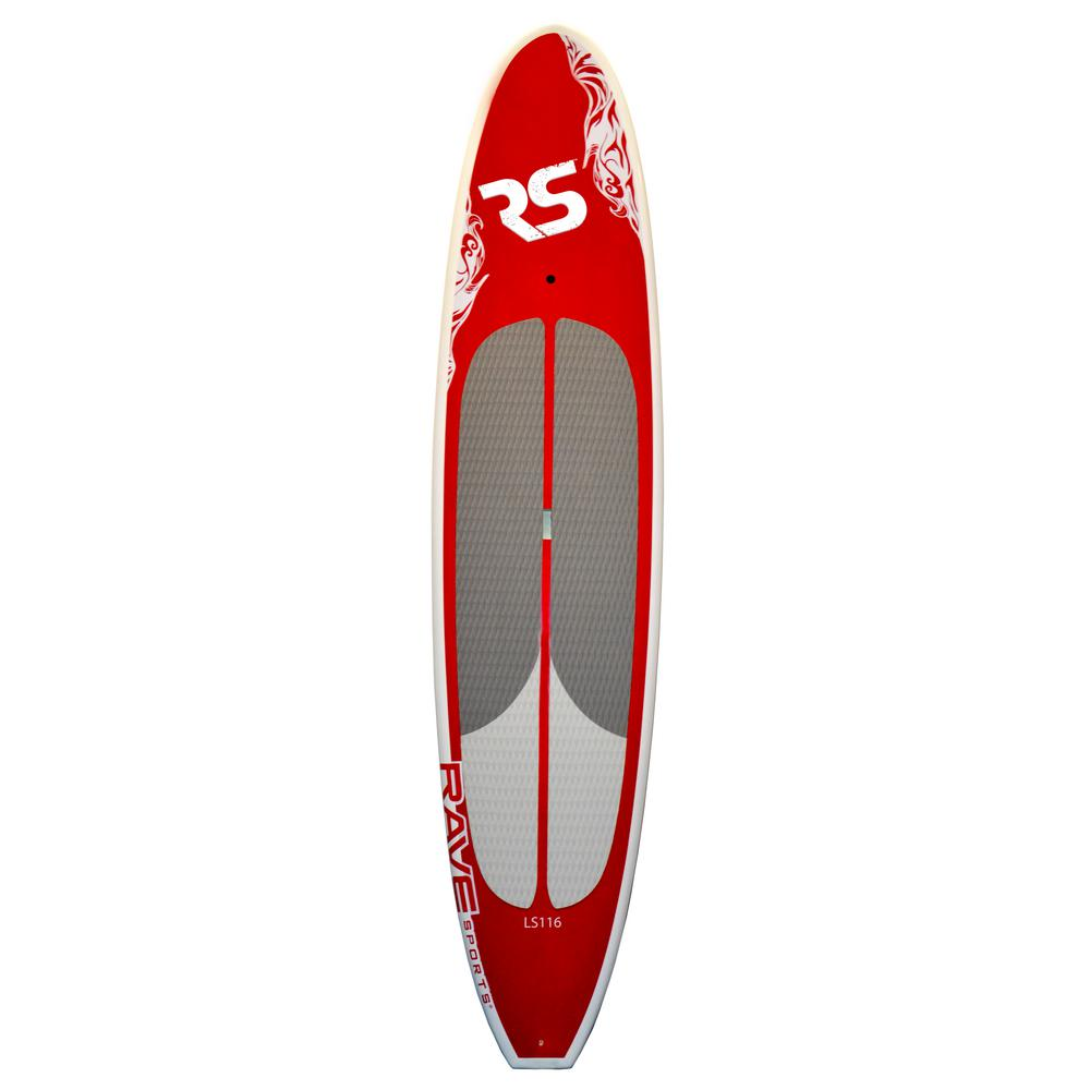 Rave Sports Lake Cruiser Stand Up Paddle Board in Red