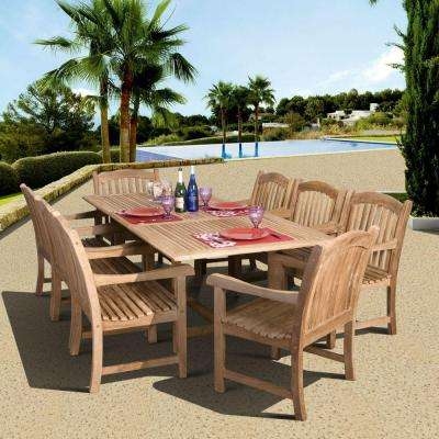 Teak Patio Dining Furniture Patio Furniture The Home Depot