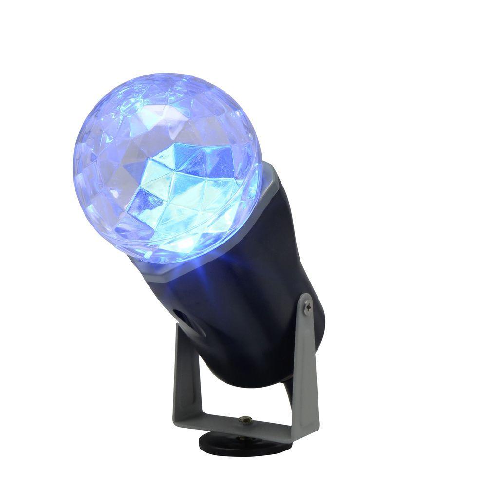 10 in. Blue Projection Kaleidoscope Spotlight Stake