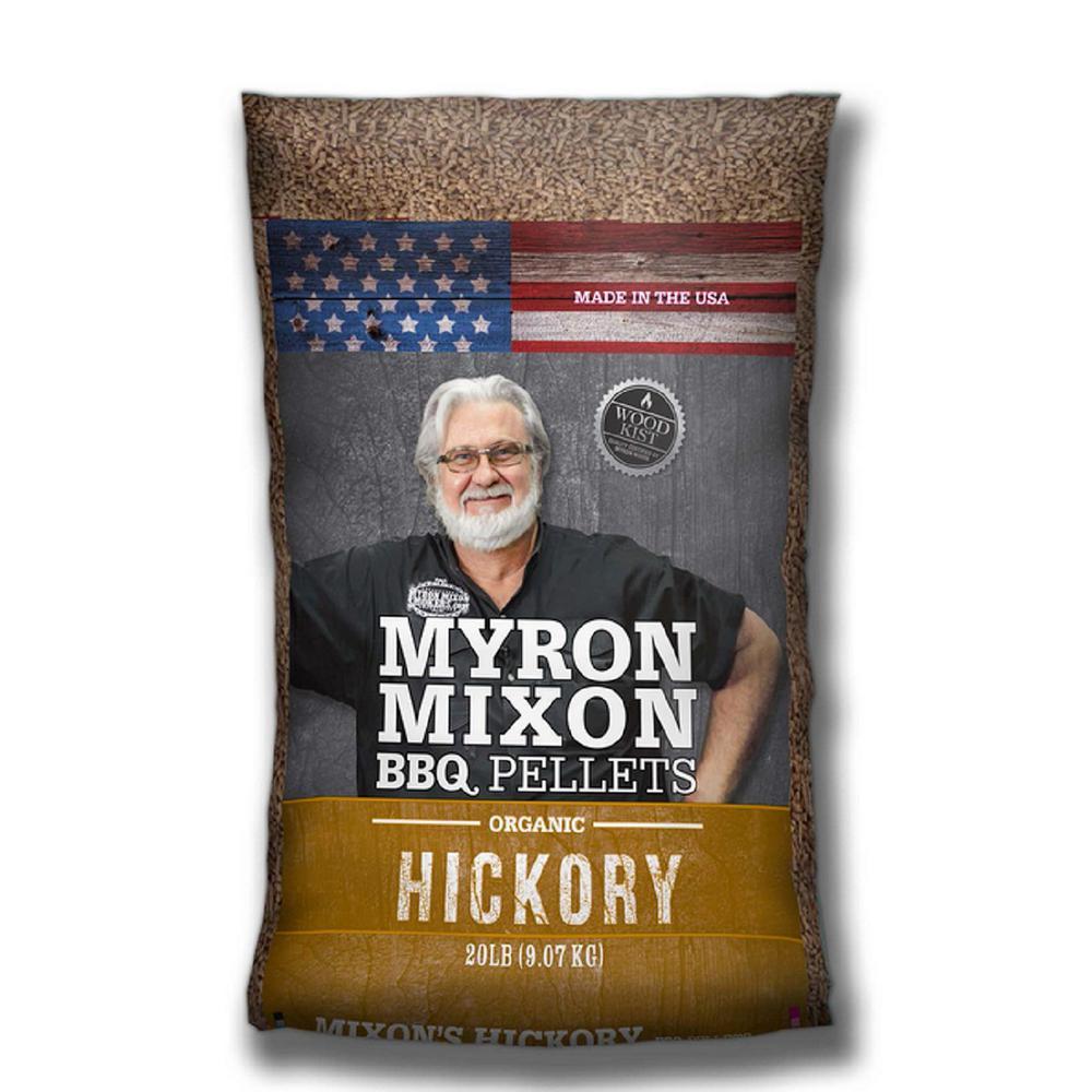 Myron Mixon Organic BBQ Wood Pellets - Hickory Hardwood