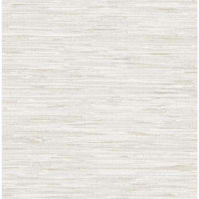 Grassweave Cream Peel and Stick Wallpaper