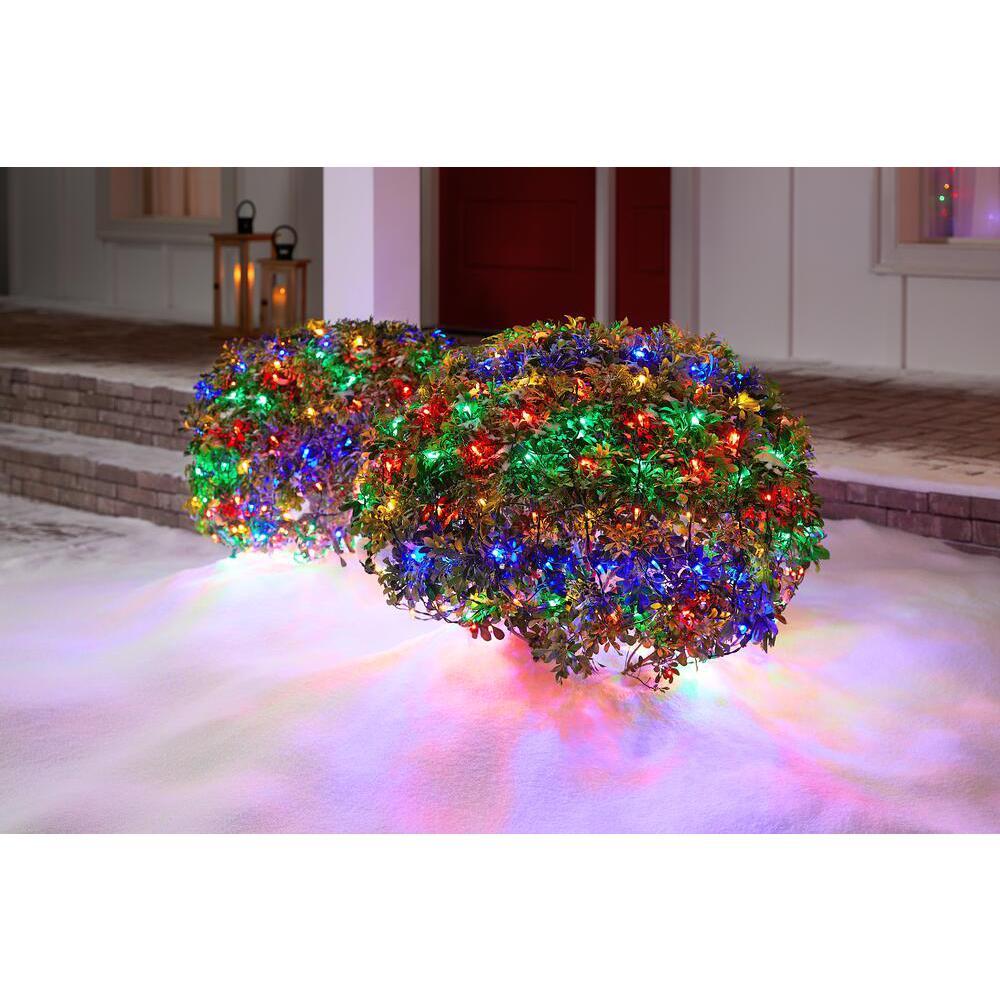 300-Light LED Smooth Mini Net Light Super Bright Constant-on Multi