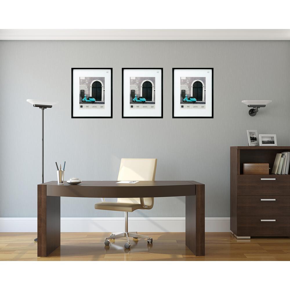 Kiera Grace Contempo 16 in. x 20 in. (11 in. x 14 in. ) Black Wood ...