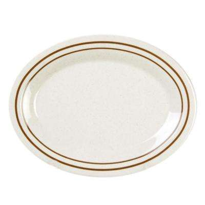 Arcacia 9-1/2 in. x 7-1/4 in. Platter (12-Piece)