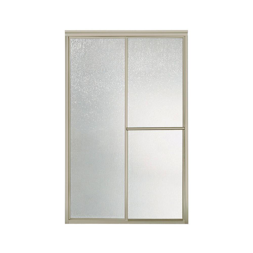 STERLING Deluxe 48-7/8 in. x 70 in. Framed Sliding Shower  sc 1 st  Home Depot & STERLING Deluxe 48-7/8 in. x 70 in. Framed Sliding Shower Door in ...