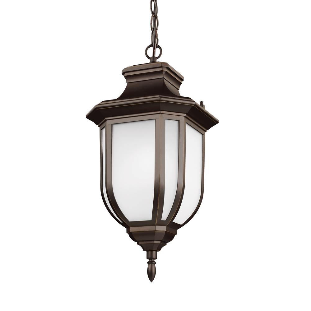 Hanging Light Bulbs Outdoor: Sea Gull Lighting Classico 3-Light Antique Bronze Outdoor