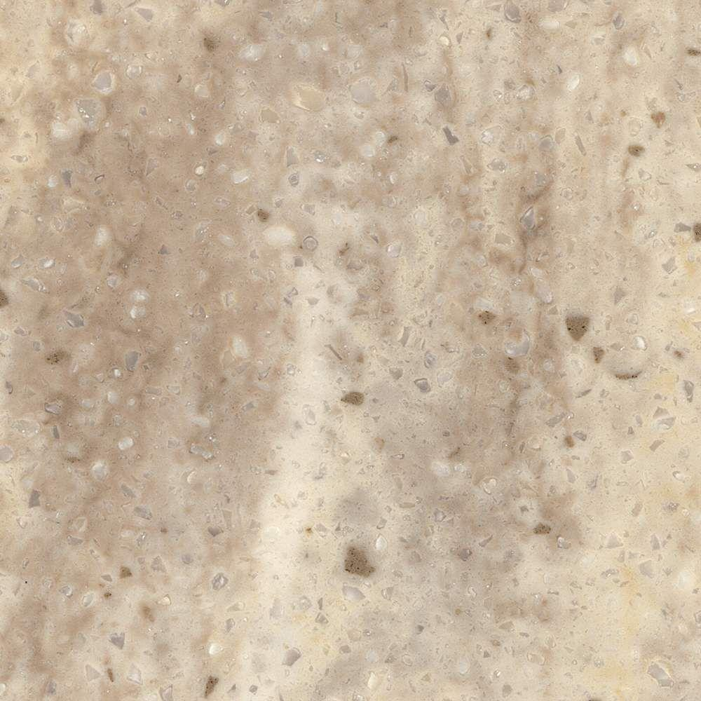 Corian 2 In X 2 In Solid Surface Countertop Sample In Coastal Sand