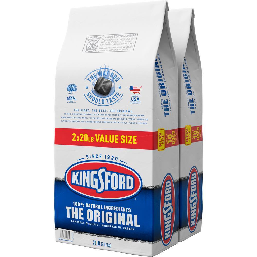 2-Pack Kingsford 20 lbs. Original Charcoal Briquettes Deals