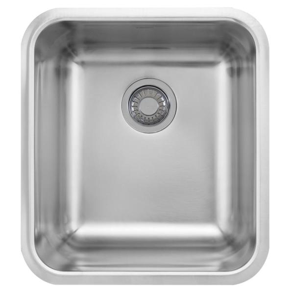 Grande Undermount Stainless Steel 18.75 in. x 16.75 in. Single Bowl Kitchen Sink