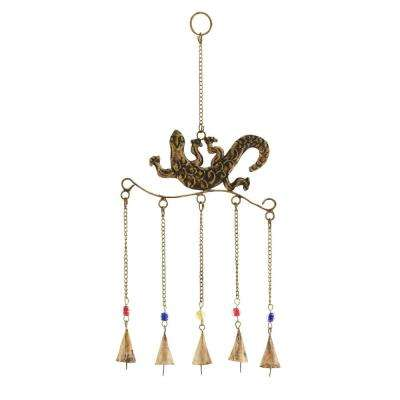 1-Piece Intricate Design Rust Resistant Metal Wind Chime