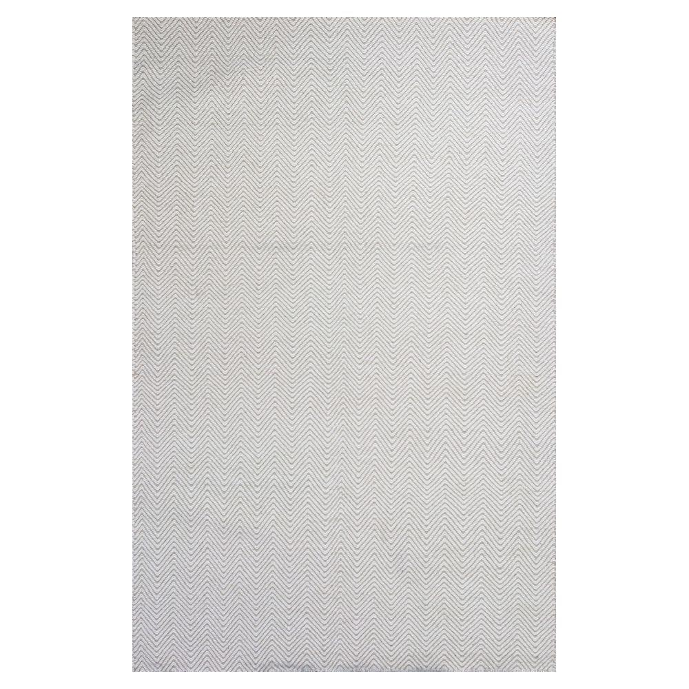 Kas Rugs Ivory Dhurrie Ivory 6 ft. 6 in. x 9 ft. 6 in. Area Rug