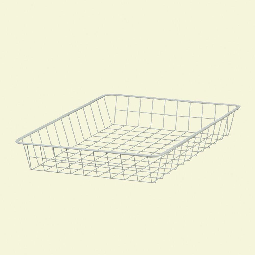 ClosetMaid 21 in. x 3-1/4 in. x 17 in. Ventilated Wire Drawer