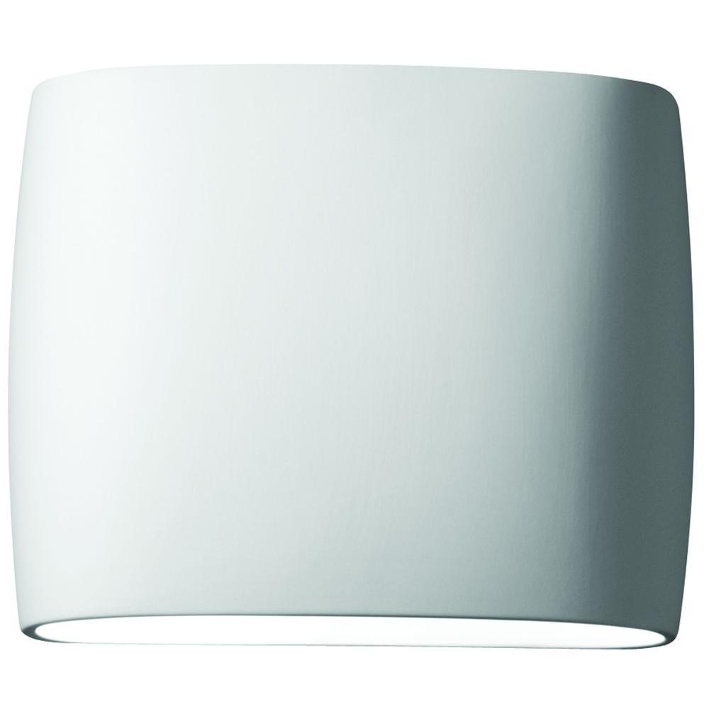 Filament Design Leonidas 2-Light Paintable Ceramic Bisque Sconce