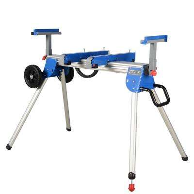 45-1/4 in. Miter Saw Stand with Aluminium Top