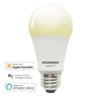 SMART+ Bluetooth 60-Watt Equivalent Soft White Dimmable A19 LED Light Bulb