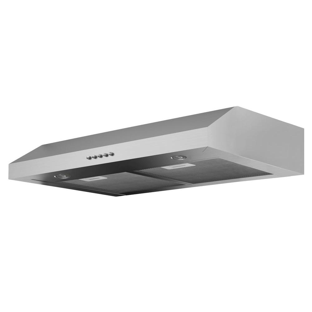 Incroyable Under Cabinet Range Hood In Stainless Steel