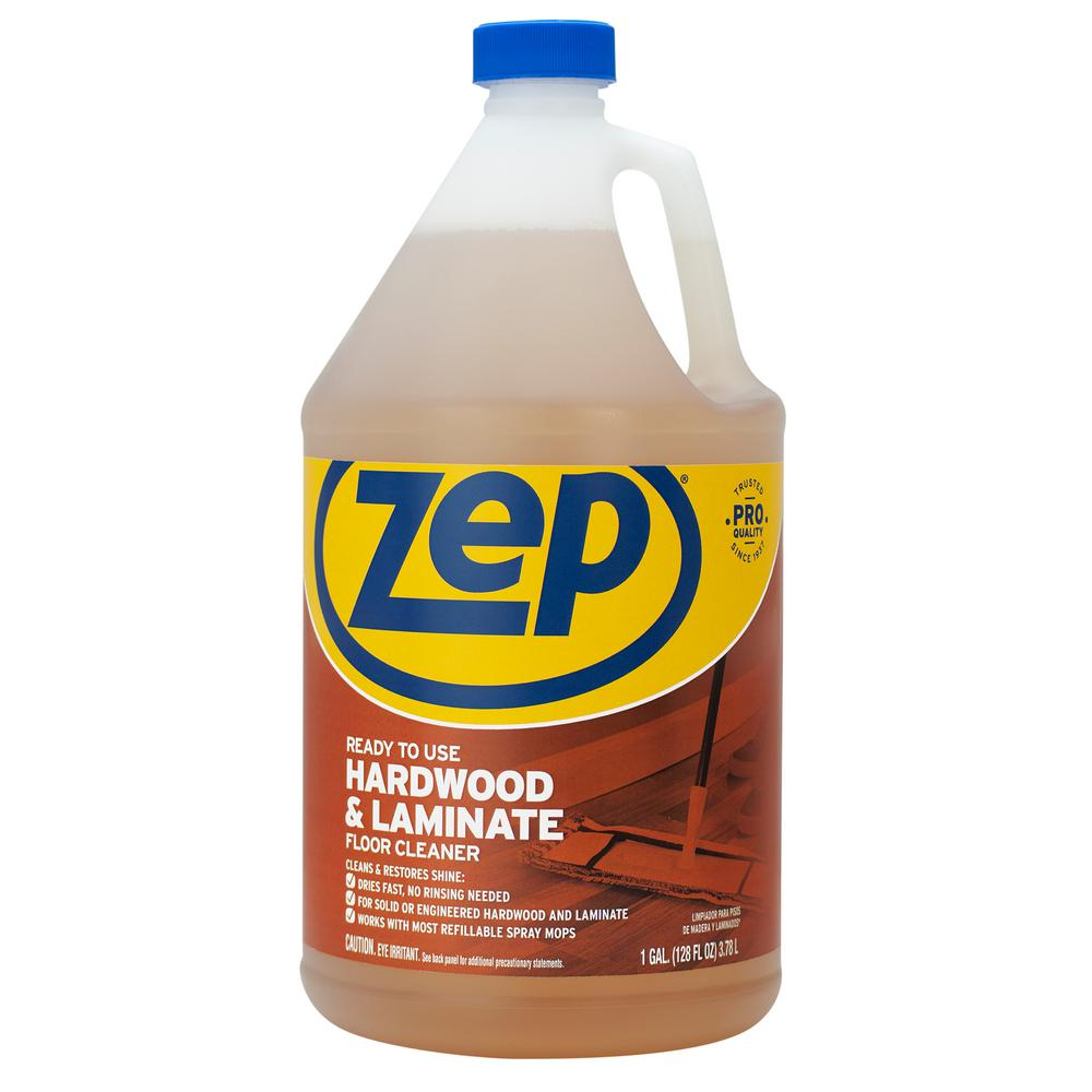 Zep 1 Gallon Hardwood And Laminate Floor Cleaner Zuhlf128 The