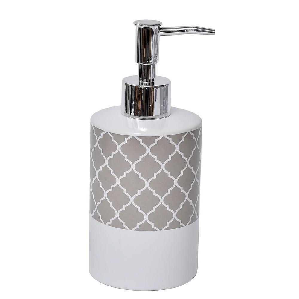 Collection Escal Bath Soap and Lotion Dispenser