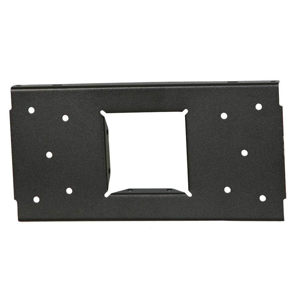 Steel Mailbox Mounting Board, Black