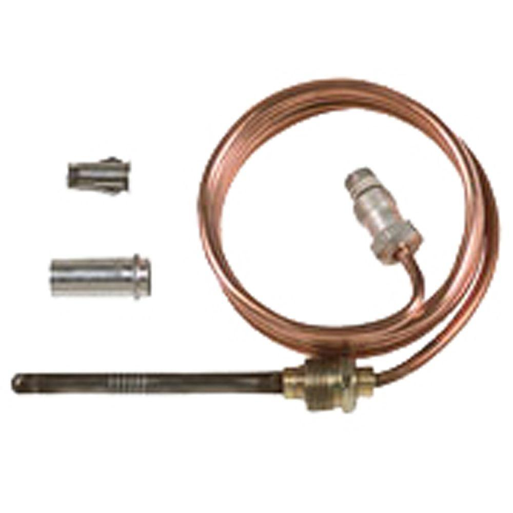 Honeywell 24 In Universal Gas Thermocouple Cq100a1013 The Home Depot Columbia Oil Burner Wiring Diagram
