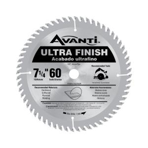 7-1/4 in. x 60-Teeth Fine Finish Saw Blade