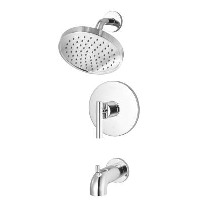 Contempra 1-Handle 1-Spray Tub and Shower Trim Kit in Polished Chrome (Valve Not Included)
