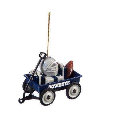 Dallas Cowboys 1-3/4 in. NFL Team Wagon Christmas Ornament