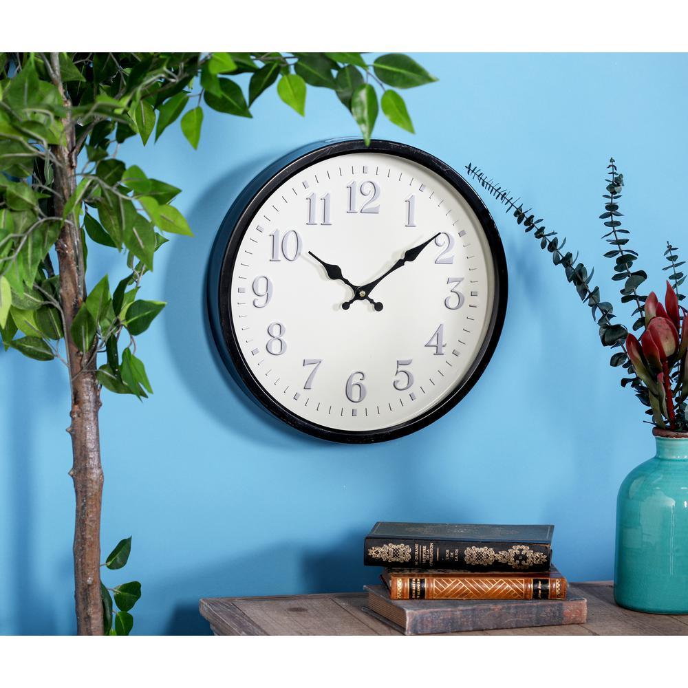 Multi-Colored Modern Wall Clock