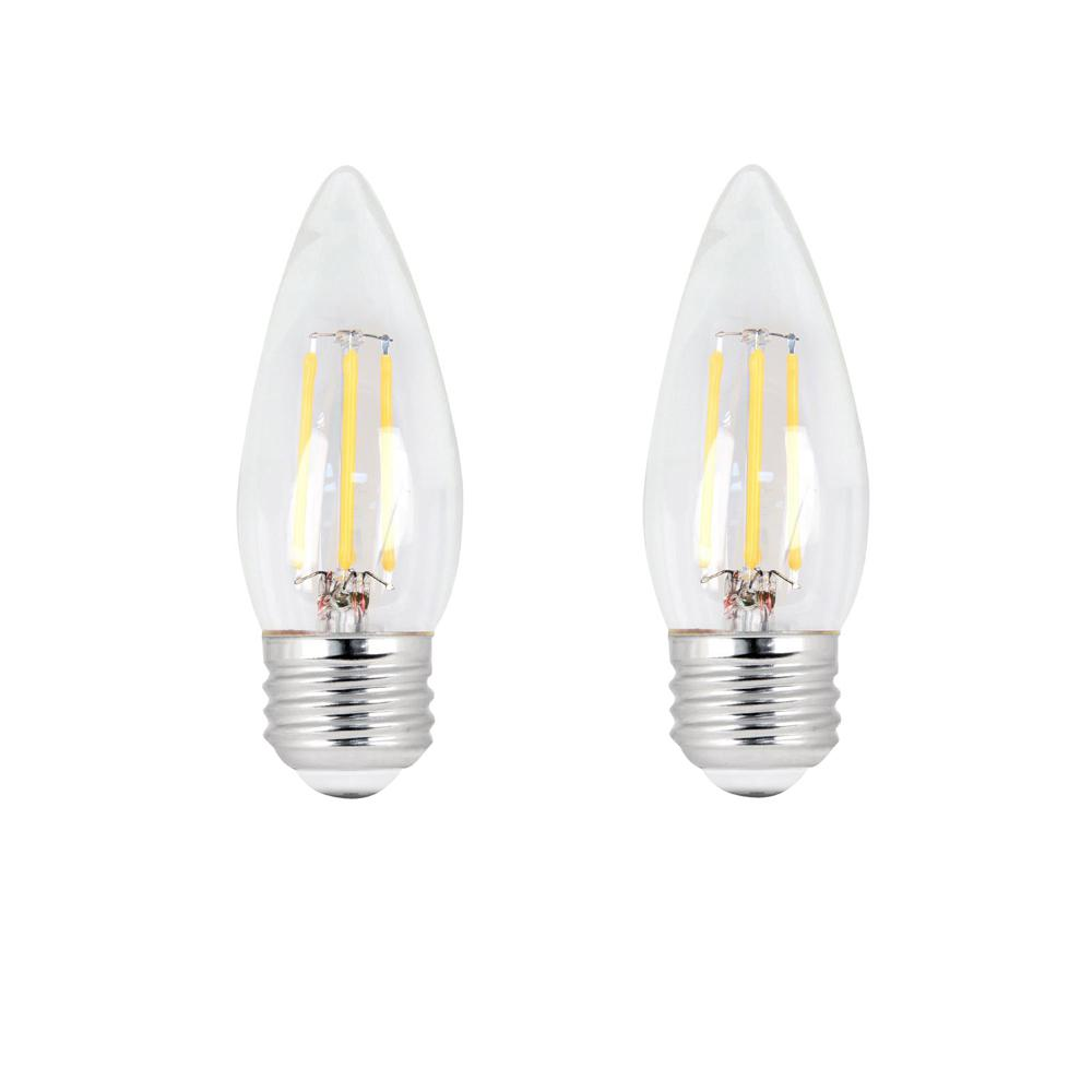 Feit Electric 60 Watt Equivalent B10 Dimmable Filament Cec Led Energy Star 90 Cri