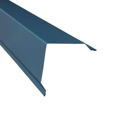 5 in. x 10.5 ft. Outside Corner Wall Connector Flashing in Ocean Blue