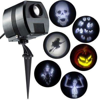 Halloween Specter Projector-Short Circuit (White)