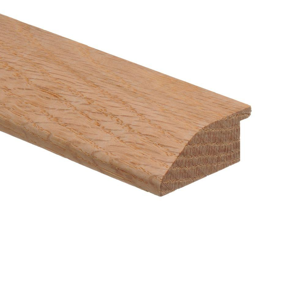 Unfinished Red Oak 3/4 in. Thick x 1-3/4 in. Wide x 94 in. Length Wood Multi-Purpose Reducer Molding