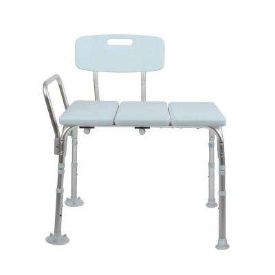 Bath Safety Transfer Bench with Back