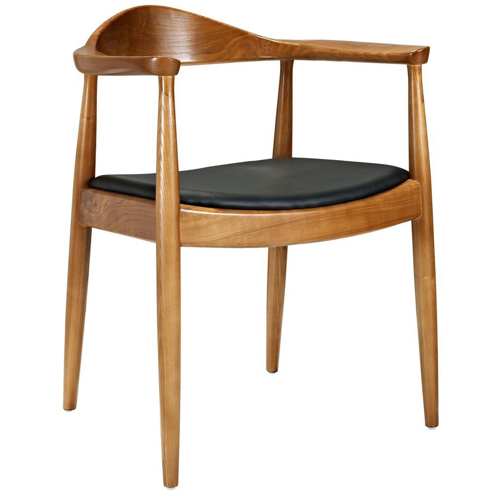 Presidential Black Dining Armchair
